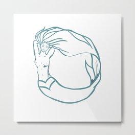 Lisa Metal Print