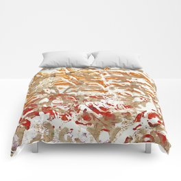 Gold Stamp 1 Comforters
