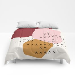 Big Shapes / Mountains Comforters