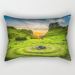 Fairy Glen Uig Isle of Skye, Scotland Rectangular Pillow