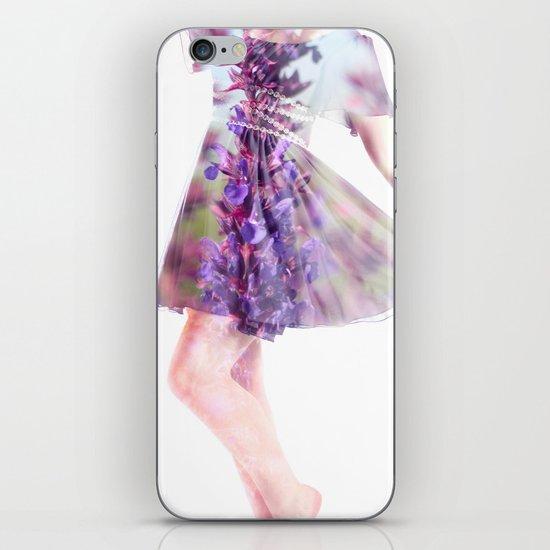 Purple Rain iPhone & iPod Skin