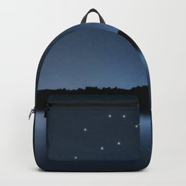 Gemini star constellation, Night sky, Cluster of stars, Deep space, Castor & Pollux, Twins constellation Backpack