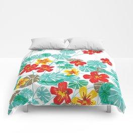 Nasturtiums Comforters