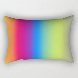 Ombre Bright Colors 1 Rectangular Pillow