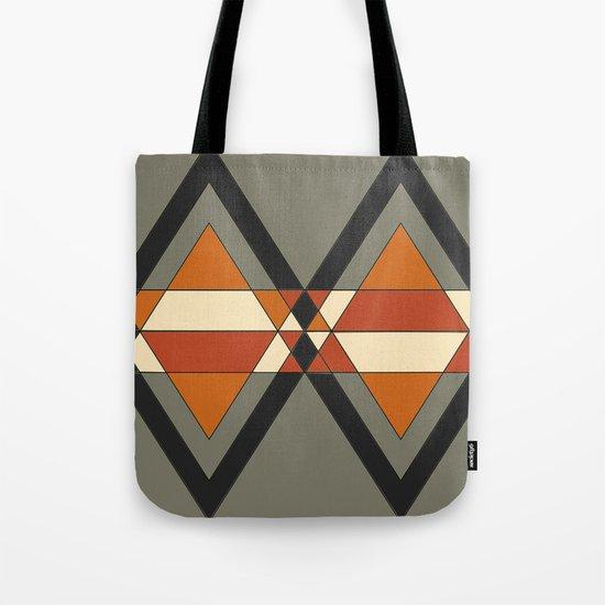 Tribal geometry Tote Bag