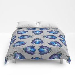 Black Opal Beetle Comforters