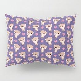 Kawaii otters Pillow Sham