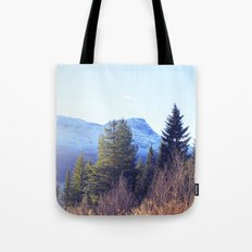 Närvik Mountains and Forest Tote Bag
