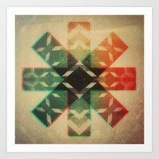 Technicolor Dream-o-Scope Art Print