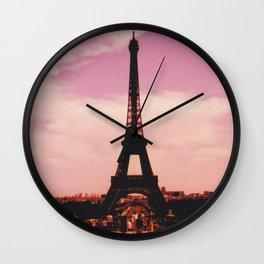 La Tour Eiffel // Tour Eiffel Wall Clock