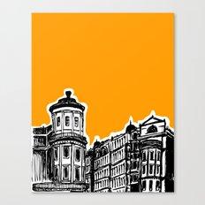 King William IV Street Canvas Print
