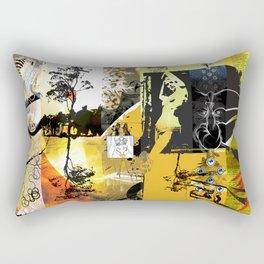 Exquisite Corpse: Round 1 Rectangular Pillow