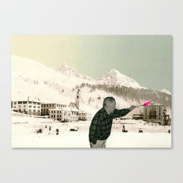 The Painter Canvas Print