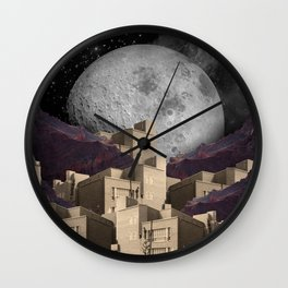 City Sleeps. Wall Clock
