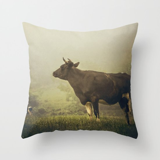 Dairy day Throw Pillow
