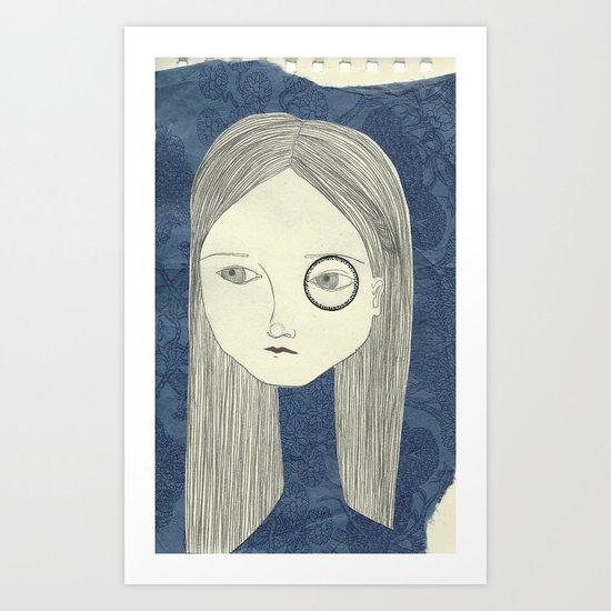 monocle Art Print