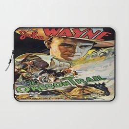 Vintage poster - The Oregon Trail Laptop Sleeve