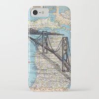 michigan iPhone & iPod Cases featuring Michigan by Ursula Rodgers