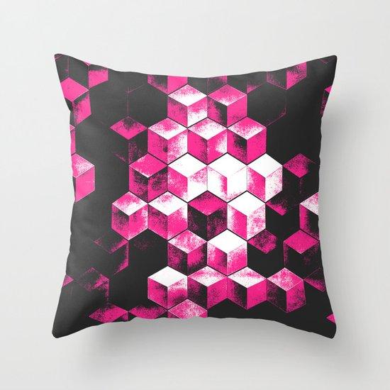cubx Throw Pillow