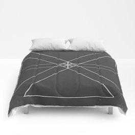 Gray Lines and Crossings Comforters