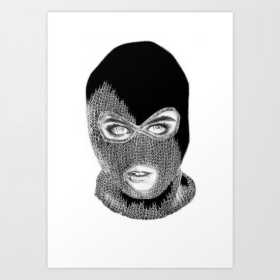 Steph Art Print