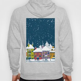 Winter town Hoody