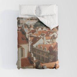 View Over Prague  Comforters