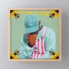 Tyler, The Creator Flower Boy Framed Mini Art Print