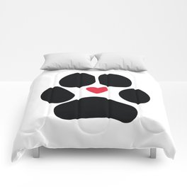 Dog Paw Comforters