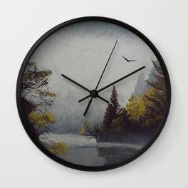 Misty Morning Wall Clock