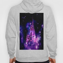 Celestial Palace Enchanted Castle Fuchsia Pink Purple Hoody