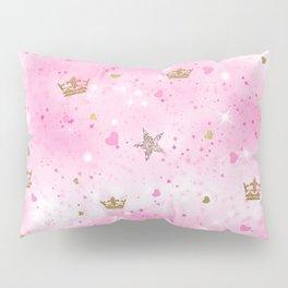 Pink Princess Pillow Sham