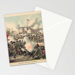 Civil War Assault on Fort Sanders Nov. 29 1863 Stationery Cards
