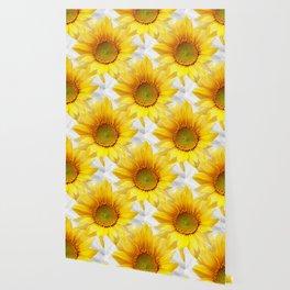 Sunflower Bouquet #decor #society6 #buyart Wallpaper