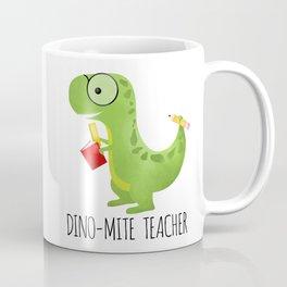 Dino-mite Teacher Coffee Mug