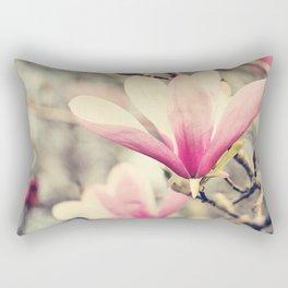 Japanese Magnolia Rectangular Pillow