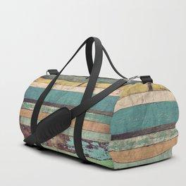 Wooden Vintage Duffle Bag