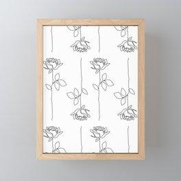 Thorns Framed Mini Art Print