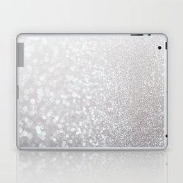 Silver ice - glitter effect- Luxury design Laptop & iPad Skin