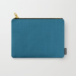 Dunn & Edwards 2019 Curated Colors Blue Velvet (Deep Blue) DET559 Solid Color Carry-All Pouch