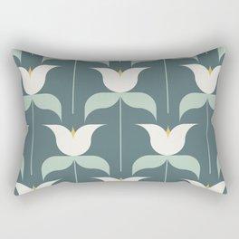 Adelaide Modern Holland in Sage - Rectangular Pillow