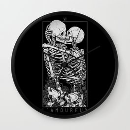The Lovers Wall Clock
