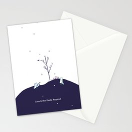 Love Is Not Easily Angered Stationery Cards