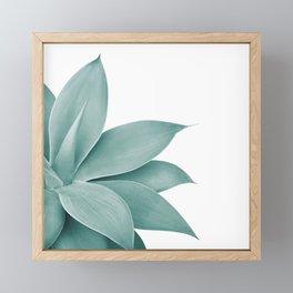 Agave Finesse #1 #tropical #decor #art #society6 Framed Mini Art Print