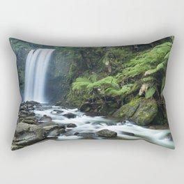 Rainforest waterfalls, Hopetoun Falls, Great Otway NP, Victoria, Australia Rectangular Pillow