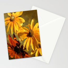 Sunshine in my Garden Two Stationery Cards