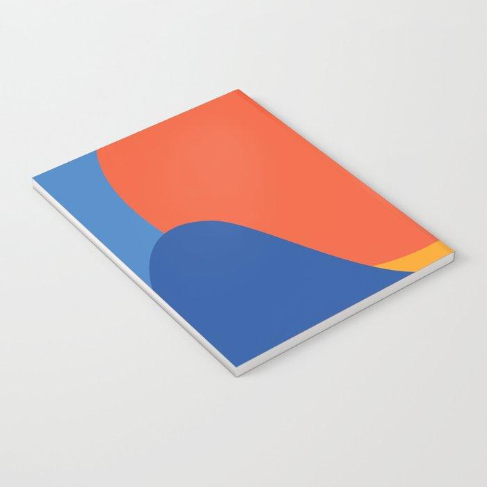 Mid Century Wall Art Black and White Mid Century Modern Art Print Retro Art Print Geometric Minimal Notebook