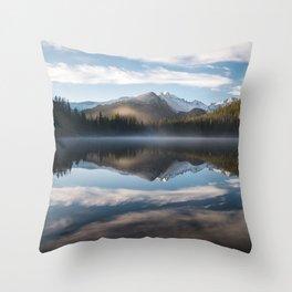 Bear Lake - Rocky Mountain National Park Throw Pillow