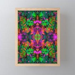 Nausea 1969 II (Ultraviolet) Framed Mini Art Print