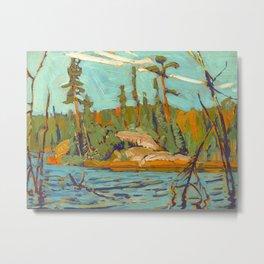 Moose Lake, Algoma, 1920, McMichael Canadian Art J.E.H. MacDonald Metal Print